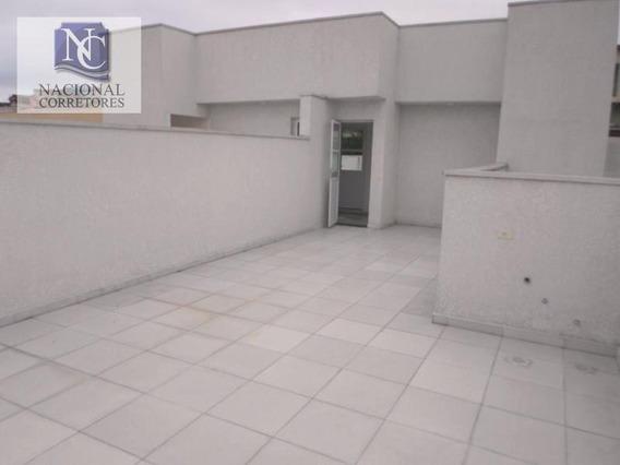 Cobertura À Venda, 98 M² Por R$ 259.000,00 - Vila Vitória - Santo André/sp - Co1432