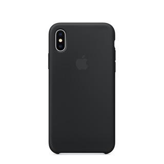 Apple Carcasa De Cuero Para iPhone X Black