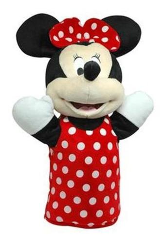 Fantoche De Pelúcia 28cm  Minnie Mouse Multikids Br935
