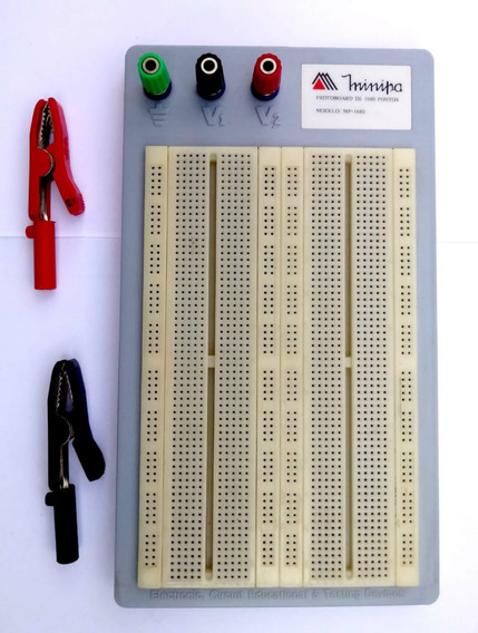 Protoboard 1680 Pontos Mp-1680 Minipa