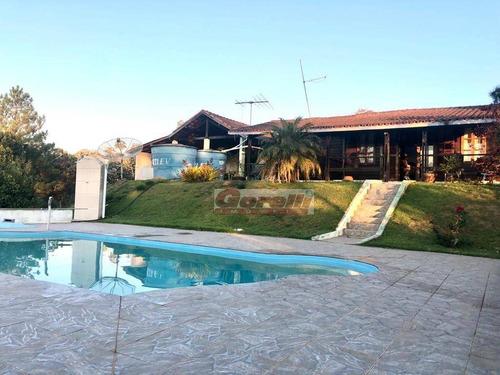 Chácara Com 4 Dormitórios À Venda, 5000 M² Por R$ 500.000,00 - Jaguarí - Santa Isabel/sp - Ch0123