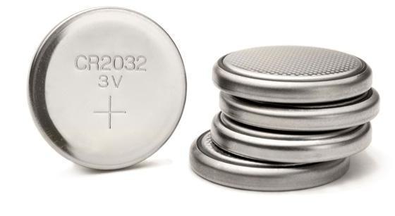 Bateria Botão Cr2032 Para Eletrônicos Kit Com 4 Unidades