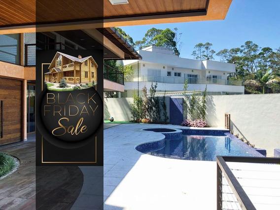 Casa Com 5 Dormitórios À Venda, 700 M² Por R$ 5.860.000,00 - Swiss Park - São Bernardo Do Campo/sp - Ca0046