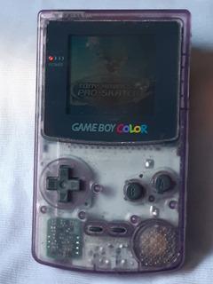 Gameboy Color Traslúcido Purpura