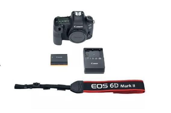 Camera Dslr Canon Eos 6d Mark Ll Somente Corpo Original