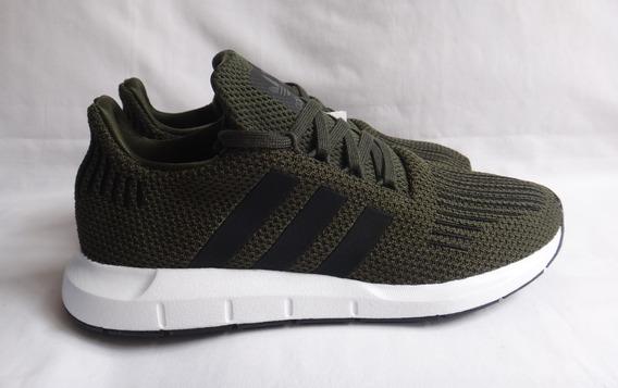 Tênis adidas Swift Run Original Verde Escuro - Tam: 38