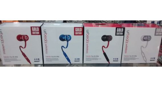 Fone De Ouvido Beats Bluetooth 4.2 Gold Wireless Microfone