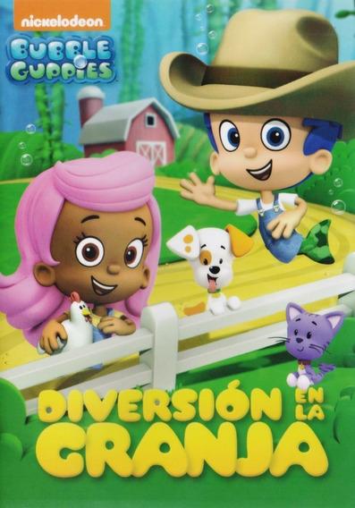 Dvd - Bubble Guppies - Diversion En La Granja - Acepto Mp