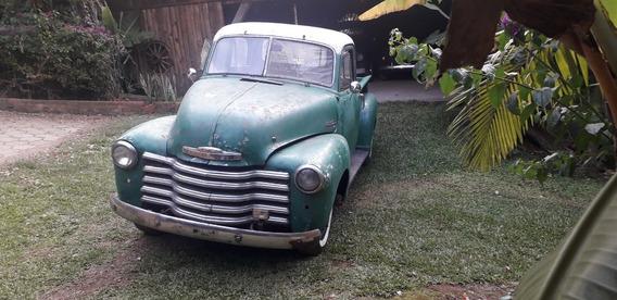 Chevrolet Boca De Sapo 1951 Diesel Cabine De Luxo 5 Janelas