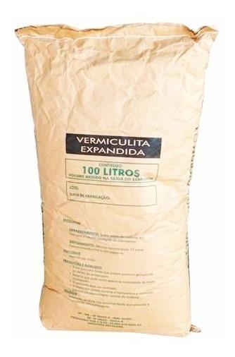 100 Litros De Vermiculita Expandida, Super Fina - Imperdivel