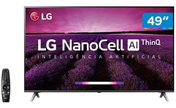 Smart Tv 4k Nanocell 49 Lg 49sm8000psa Wi-fi-hdr Inteligê