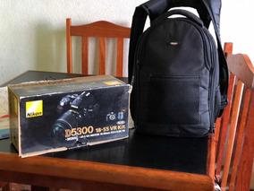 Kit Fotografia Profissional Câmera Nikon D5300 + 2 Lentes