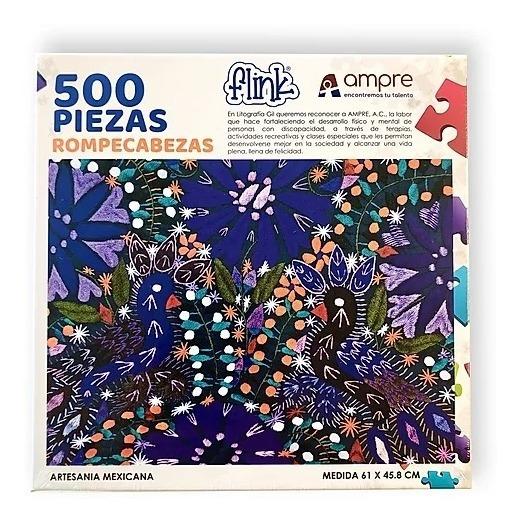 Rompecabezas Textil Artesanía Mexicana 500 Piezas Flink