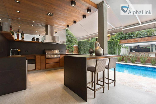 Casa Com 4 Dormitórios À Venda, 550 M² Por R$ 8.000.000,00 - Alphaville 01 - Barueri/sp - Ca0606