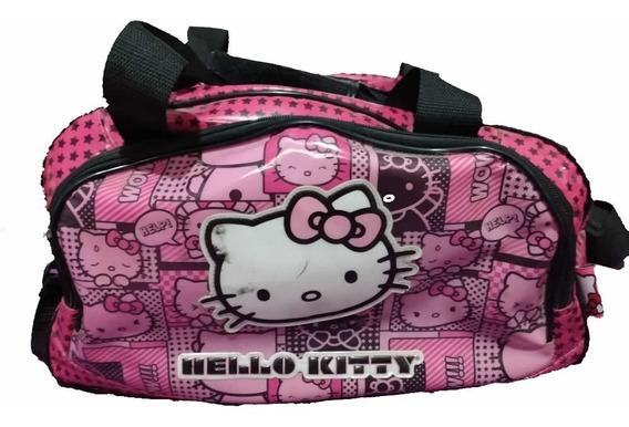 Bolso Hello Kitty Ideal Colonia O Viaje Impermeable Nena