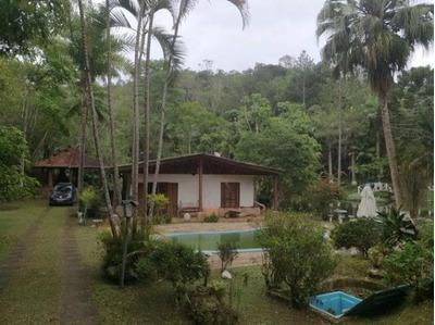 Chácara Com Lago Cheio De Peixes Piscina Casa Com 3 Quartos