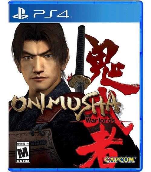 Onimusha: Warlords Ps4 Mídia Física