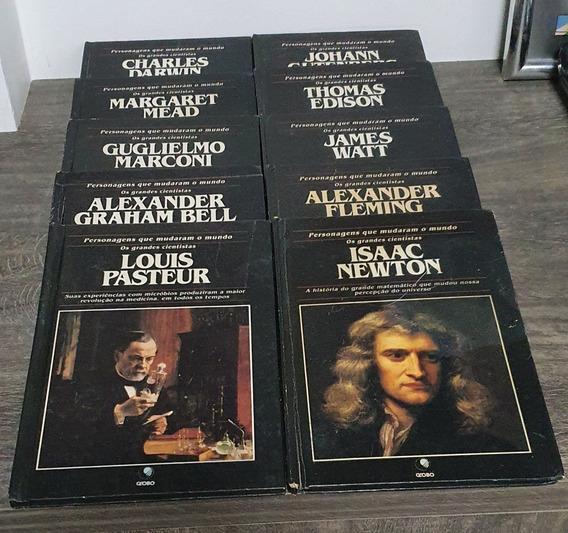 Col. Personagens Que Mudaram O Mundo - Lote 10 Vol. - 1993