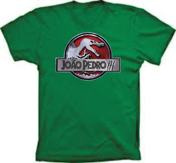 Camisetas Blusas Para Aniversario Dinossauro Personalizadas