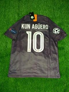 Camisa Manchester City C/ Personalização E Patches