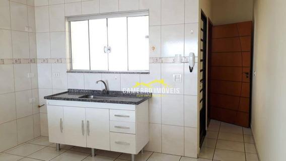 Casa Com 3 Dormitórios Para Alugar, 90 M² Por R$ 1.300/mês - Parque Novo Mundo - Americana/sp - Ca2245