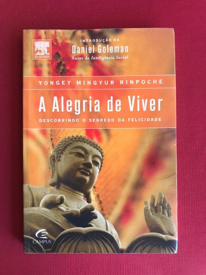 Livro - A Alegria De Viver - Daniel Goleman - Ed. Campus