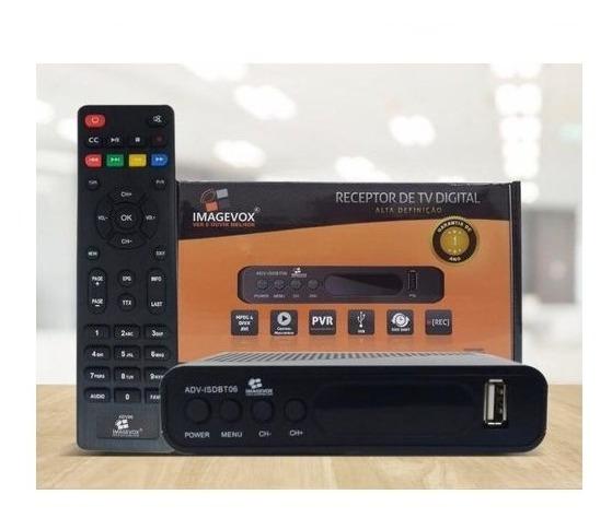 Receptor Conversor De Tv Digital Hdtv Adv-isdbt- Imagevox
