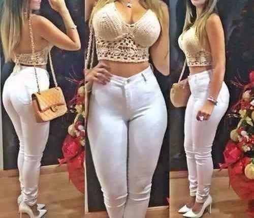Kit 6 Calça Jeans Cós Alto Skinny Hot Pants