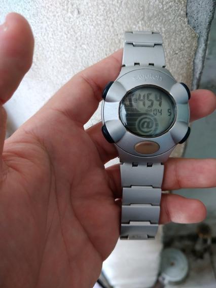 Relógio Swatch Beat Alumínio .raro E Todo Original