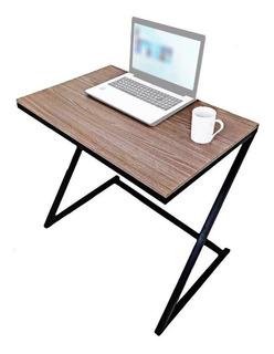 Mesa Escritorio Para Computador En Z Con Madera 80x74 Home