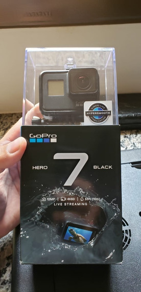 Go Pro Hero 7 Black Edition (pouquíssimo Uso)