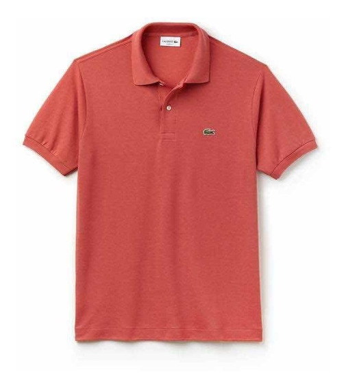 Polo Lacoste L.12.12 Classic Fit Sierra Red Salmón Original