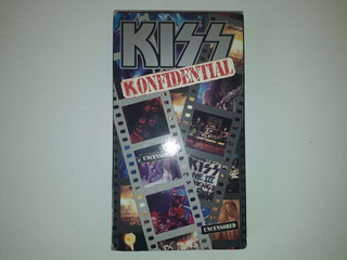Kiss Konfidential Video Vhs Import. Usa 1993 Stanley Simmons