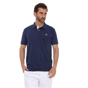 Camisa Polo Clube Náutico Slim Marinho