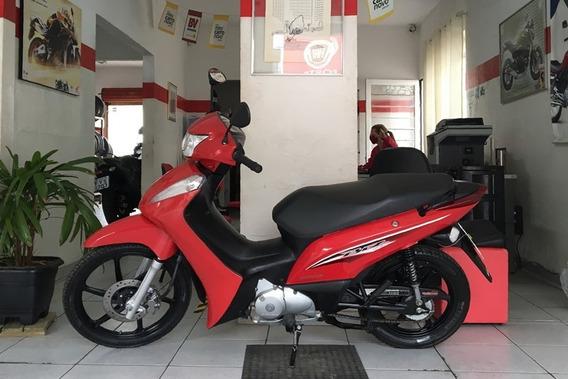 Honda Biz 125 Ex Vermelha 2017