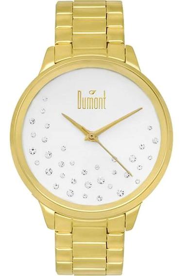 Relógio Feminino Dumontdu2036lsq/k4k Dourado