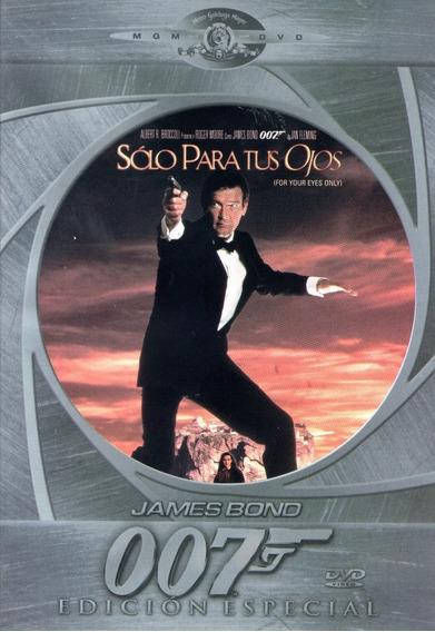 007 Solo Para Tus Ojos James Bond Pelicula Dvd