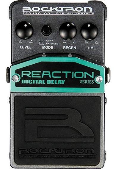 Rocktron Reaction Digital Delay Efecto Pedal
