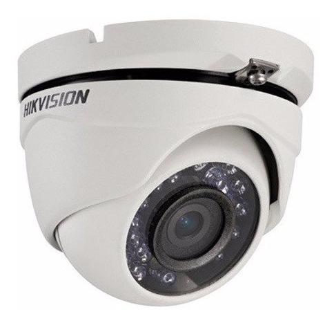 Kit 4 Câmeras Hikvision Hdtvi Dome Ir Metal 720p Hd