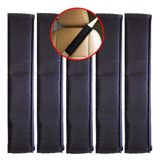 Capa Protetora Cinto Segurança Almofadado 5 Peças + Nf-e