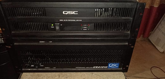 Power Amplificador Qsc Modelo Isa 750 .2500 Watts