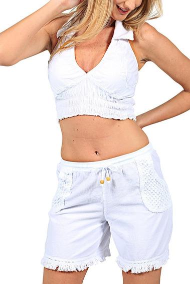 Short Para Dama Algodón Modelo (fiji)