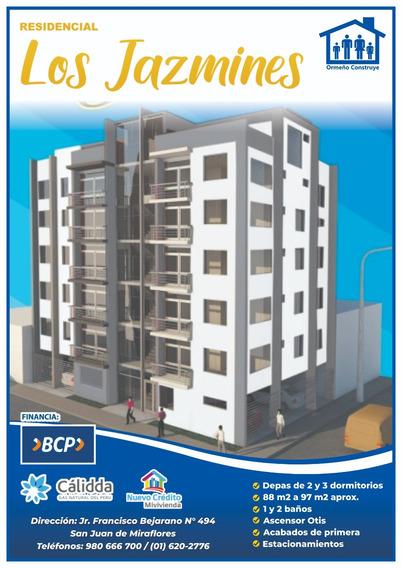 Departamento De Estreno, 3 Dormitorios, 2 Baños