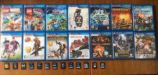 Jogos Ps Vita Leia Descrição Vários Títulos - Console Psvita