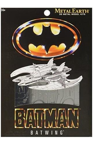 Fascinations Metal Earth 3d Laser Cut Modelo Batman 1989 Bat