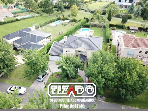 Casa En Venta 6 Ambientes 384 Ubicado En Los Jazmines, Pilar Pilar Del Este