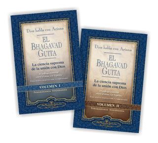 Pack Bhagavad Guita (2 Libros) - Paramahansa Yogananda - Srf