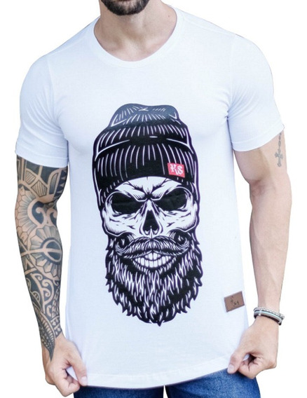 Camiseta Oversized Longline Camisa Blusa Masculina Swag Top