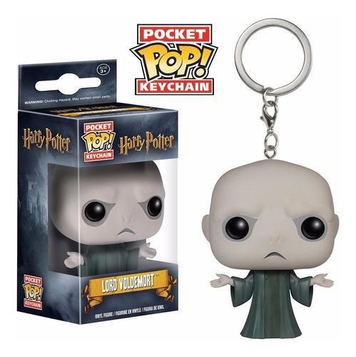 Pocket Pop Llavero Lord Voldemort Harry Potter Funko