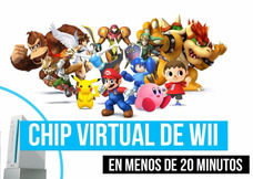 Chipeo Chip Virtual Nintendo Wii Actualizamos Tu Consola